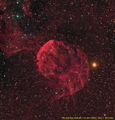 The Jellyfish Nebula (DJMcCrady) Tags: telescope nebula astrophotography astronomy ic443 jellyfishnebula sbigstl4020m Astrometrydotnet:status=solved Astrometrydotnet:version=10145 Astrometrydotnet:id=alpha20090148082452