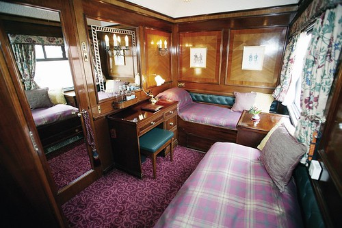 Train Chartering - Royal Scotsman, cabin