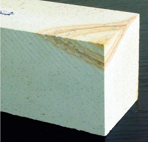 Природный крупнозернистый японский камень