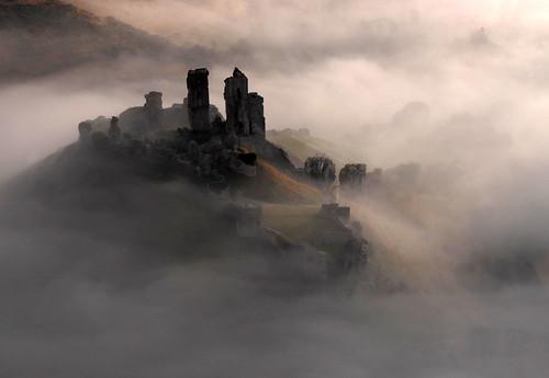 フリー写真素材, 建築・建造物, 遺跡, 霧・霞, イギリス, イングランド,