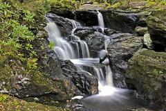 Inversnaid Waterfall (Stuart Stevenson) Tags: scotland waterfall canon300d september lochlomond inversnaid stuartstevenson canoneos28135mmf3556isusm stuartstevenson