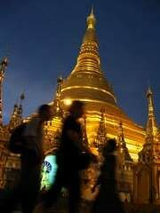 Shwedagon-evening