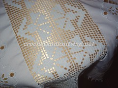 Napkin Lace Coffee Table Cover pattern 2