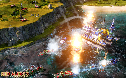 Red Alert 3 Ultimate Edition Screenshot - Allies vs Soviets 4