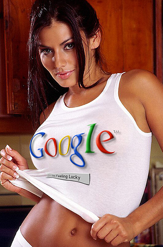 google-pagerank-girl