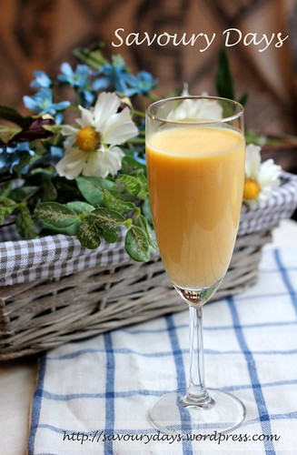 Mango & Passion Fruit Lassi