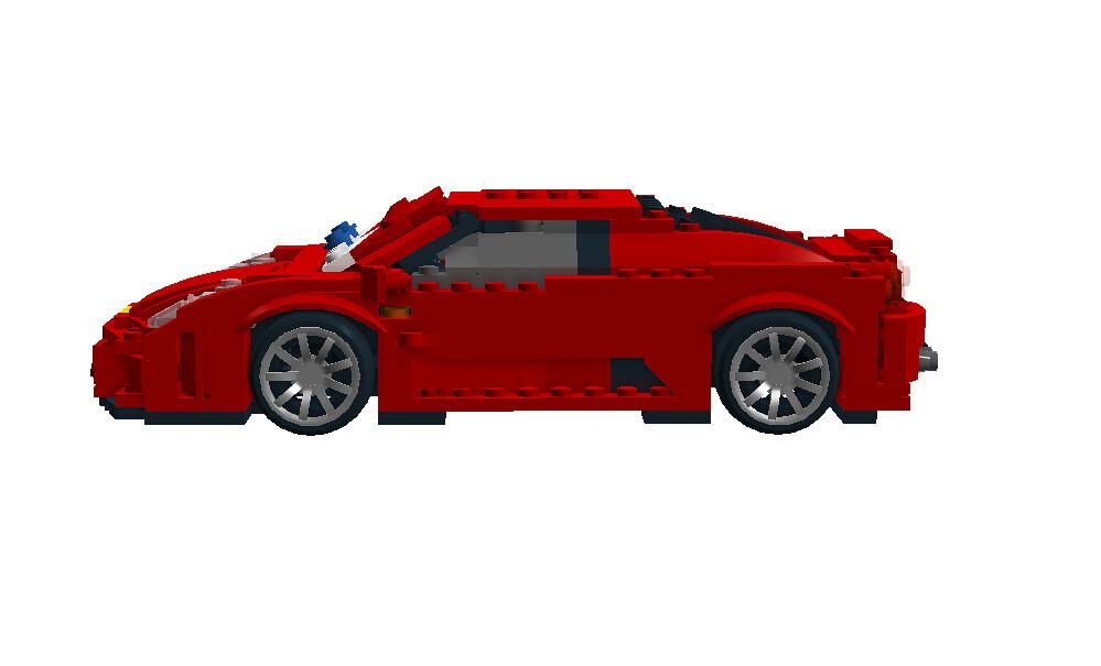 Michael Schumacher Ferrari - Disney / Pixar Cars Movie Character