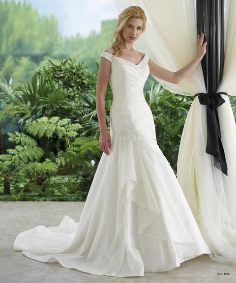 Trajes de novia baratos-970A
