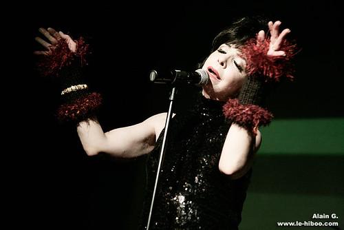 Photos concert - Julee Cruise & Pluramon - Divan de Monde - 20.02.2008