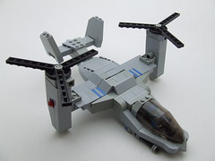 New Britain Light attack VTOL (Shadow Viking) Tags: lego military helicopter vtol tiltrotor babyosprey