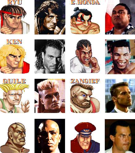 [Street Fighter II Nostalgia] Stallone, el mejor Ryu