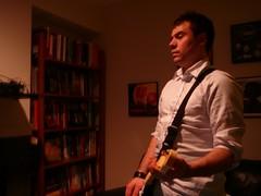 Josh on Guitar (alist) Tags: games alist rockband harmonix robison alicerobison ajrobison