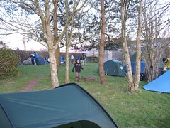 Campsite at Easter Drumquhassie (Liam42) Tags: benlomond lochlomond westhighlandway tyndrum conichill arrocharalps benvorlich benvane bennarnain