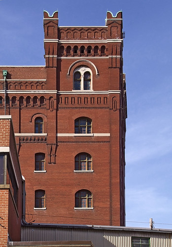 Anheuser-Busch Brewery, in Saint Louis, Missouri, USA - building 1