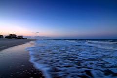 Amelia Island Shoreline (greetingsfromok) Tags: ocean sunset beach landscape island coast florida wave atlantic filter shore fl amelia atlanticocean graduated density neutral ameliaisland graduatedneutraldensityfilter