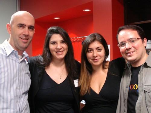 Eu e o pessoal do Google por Patricia Müller.