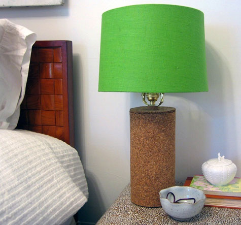 Ever Since I Saw One On A Bedside Table In Domino Magazine, I Have Been In  Love With And Searching For Vintage Cork Lamps. They Are Hard To Find  Though, ...