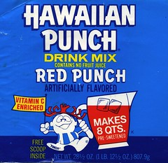 Hawaiian Punch Red label