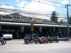 Koh samui-Bike shop0001 (soma-samui.com) Tags: travel bike thailand island asia resort samui chaweng koh 旅行 タイ 南国 バイク アジア 島 リゾート サムイ チャウエン tourguidesoma ツアーガイドsoma
