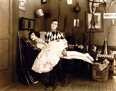 Buster Keaton (Stella Sabata comes to Kill!) Tags: vintage ballerina comedy antique handsome actor talented silverscreen busterkeaton silentcinema