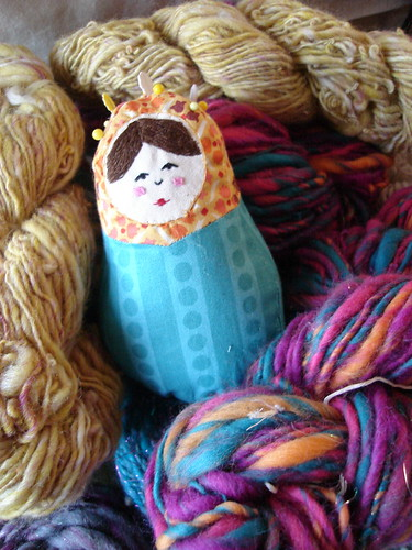 Russian nesting doll pincushion