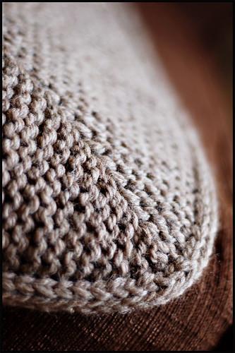 EZ Garter Stitch Afghan Edging Detail (by b r o o k l y n t w e e d)