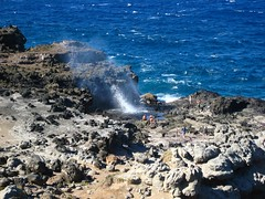 IMG_0552 (johnstephens) Tags: hawaii honeymoon maui blowhole nakalele