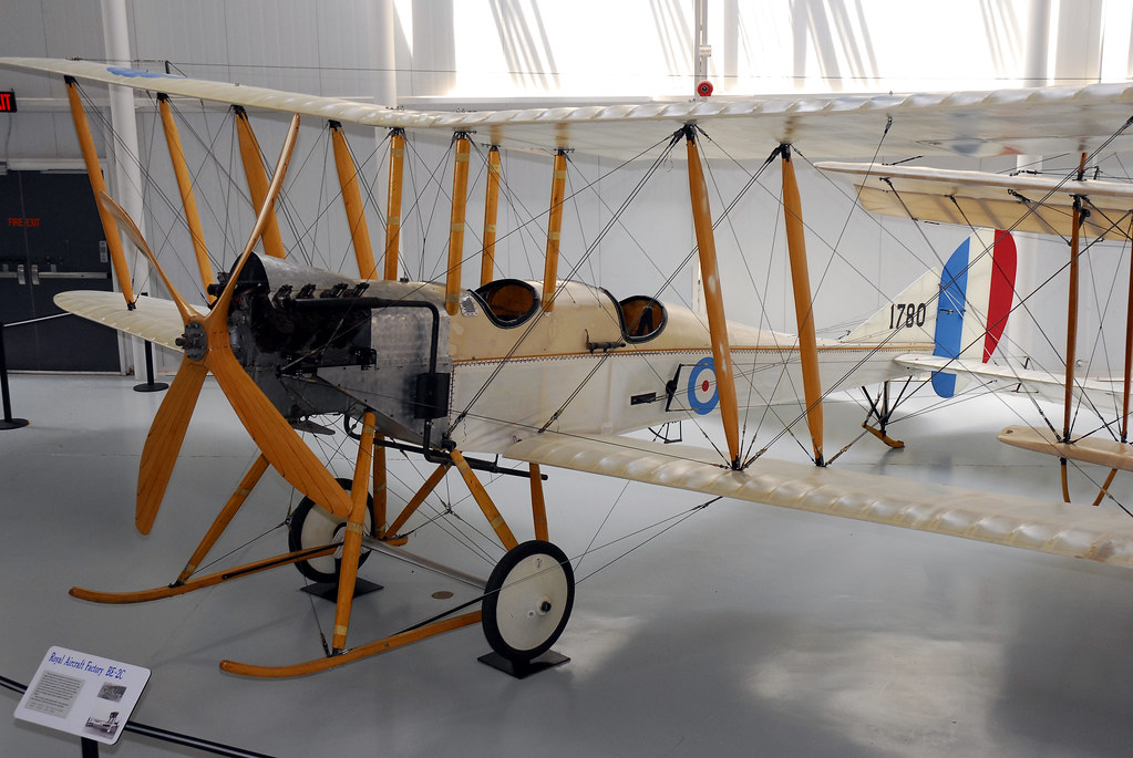 Army Aviation Museum, BE-2C WWI
