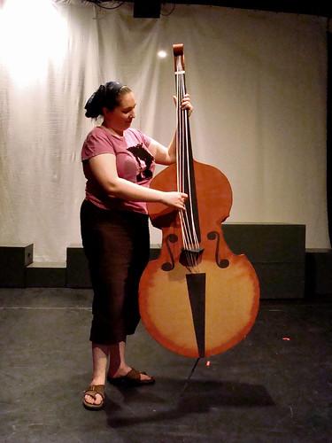 Berit and Her Fake Breakaway Bass