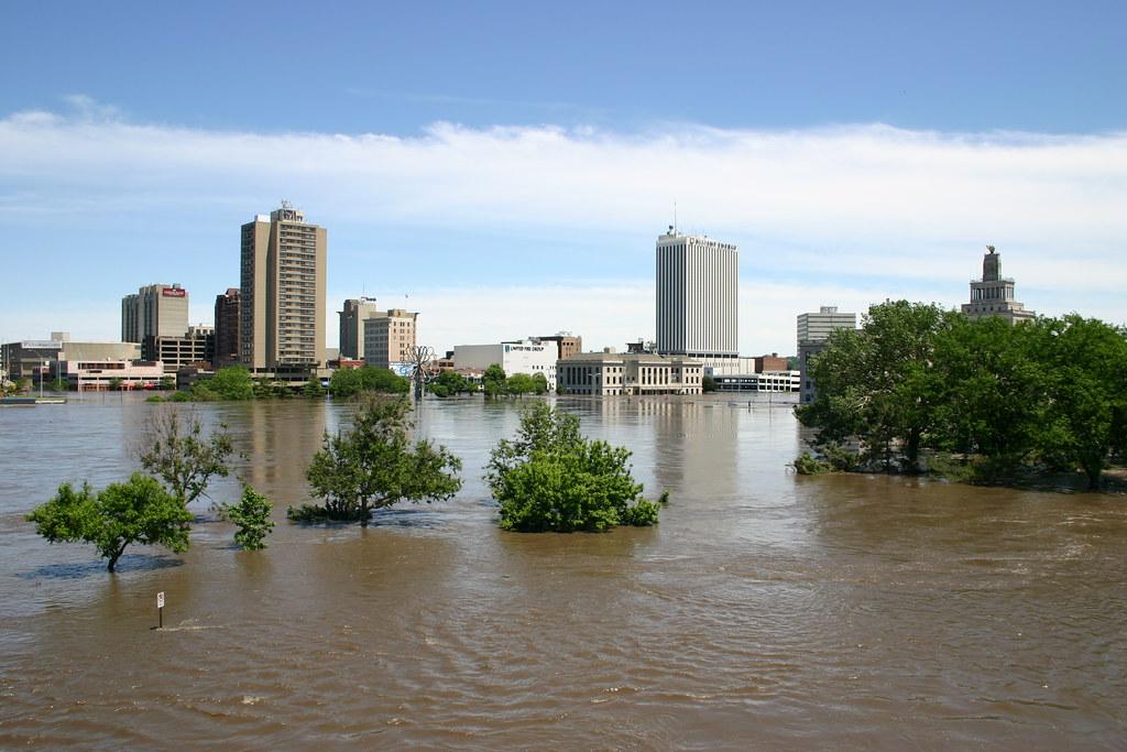 Cedar Rapids flooded 001