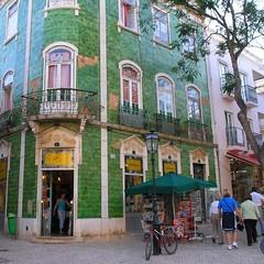 green house (mark e dyer) Tags: urban green portugal tile europe lagos algarve janelasportuguesas