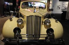 1939 Packard, Evita (Joe_B) Tags: ca old car museum vintage geotagged losangeles unitedstatesofamerica automotive headlights grill evita peron petersen petersenautomotivemuseum 18200mmf3556gvr geo:country=unitedstatesofamerica geo:city=losangeles geo:state=ca camera:make=nikon camera:model=d300 200866 roll10402 shot399 event:code=200866 roll:num=10402 lens:name=18200mmf3556 lens:type=dgvr exposure:ISO=1250 exposure:fnumber=f4 lens:focallength=28 exposure:shutterspeed=120 image:shot=399