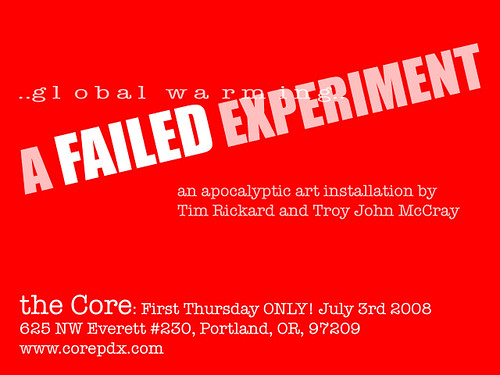 First Thursday, Core Gallery, Portland