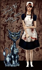 Me in Alice by American McGee ( Mrtin ) Tags: 2 glass looking cheshire alice mcgee american wonderland sims thesims trough malice koinup Koinup:Username=marty86 Koinup:WorkID=46068