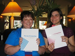 Lori Reed (PLCMC) and Kam McEvoy (CTLS) and their MaintainIT Cookbooks