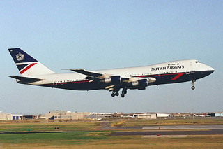 British Airways 747-136 G-AWNF