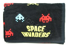 Space Invaders Towels from Japan (Andeveron) Tags: japan spaceinvaders towels