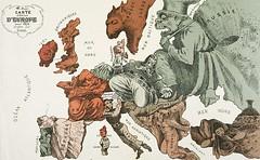 AG001335 (lyapustin) Tags: map propaganda cartoon visualarts editorialcartoon politicalandsocialissues 1870satiricalmapofeurope