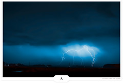 Thunderdome (Gert van Duinen) Tags: longexposure nightphotography landscape digitalart thunderstorm lightning landschaft thunderdome stormclouds landschap thunderbolts electricalstorm lightningbolts luminouslandscape lightningstrikes dutchartist landschaftsaufnahme atmosphericdischarge gertvanduinen