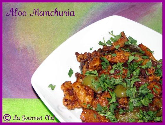 Aloo Manchuria
