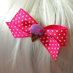 pinkbowicecream (Mommysaurus) Tags: cute ice hair cream clips icecream eis bows hairaccessories glaceice