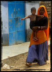 Seeking a Life of Dignity (designldg) Tags: people woman india colours pride dignity rajasthan femininity  indiasong