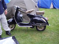 old vespa (mark & anne's photos) Tags: vespa rally lambretta scooters custom scooterrally bretta ronniebiggs