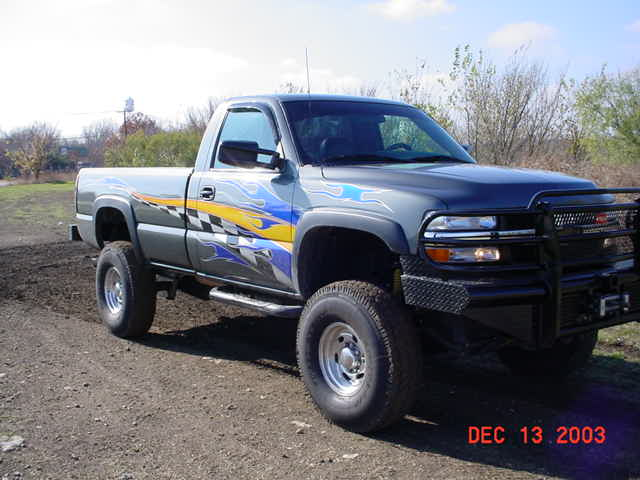 chevrolet silverado denman trailboss vortec superlift