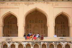Quality Time (laszlo-photo) Tags: family india friday hyderabad golconda holyday qualitytime blueribbonwinner golcondafort