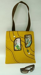 Yellow Diana Art Bag