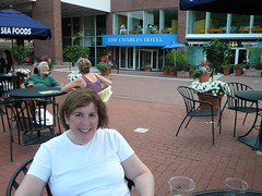 mom at legal seafoods in harvard square (alist) Tags: alist cambridgema robison alicerobison summer2008 ajrobison