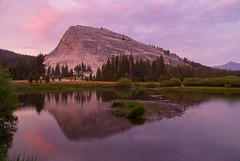 Tuolumne Meadows (satosphere) Tags: sunset reflection yosemite yosemitenationalpark nationalparks mosquitoes tuolumnemeadows lembertdome tuolumneriver tamron1750mmf28 sonydslra100 tuolumnecampground