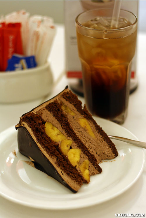 Secret recipe rm10 set meal malaysia food travel blog chocolate banana cake forumfinder Choice Image