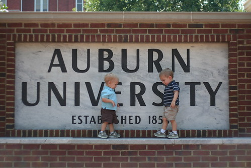The Boys First Trip to Auburn